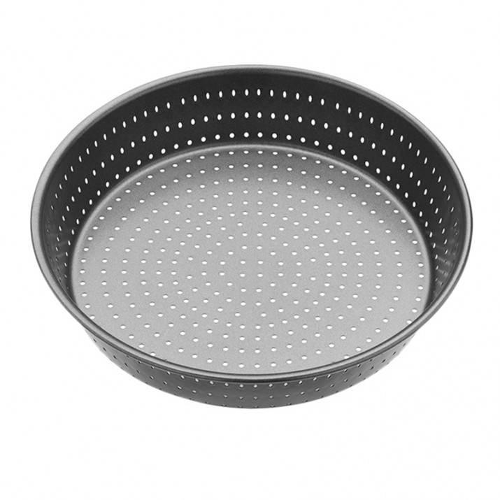 Molde redondo perforado para hornear profundo 24 cm - Kitchen Craft