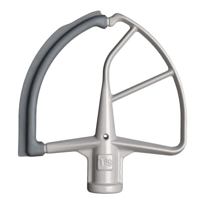Batidor con lado flexible para KitchenAid profesional