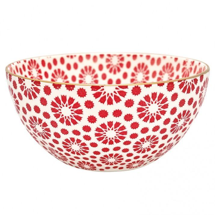 Bol de cereales Kelly red gold - GreenGate