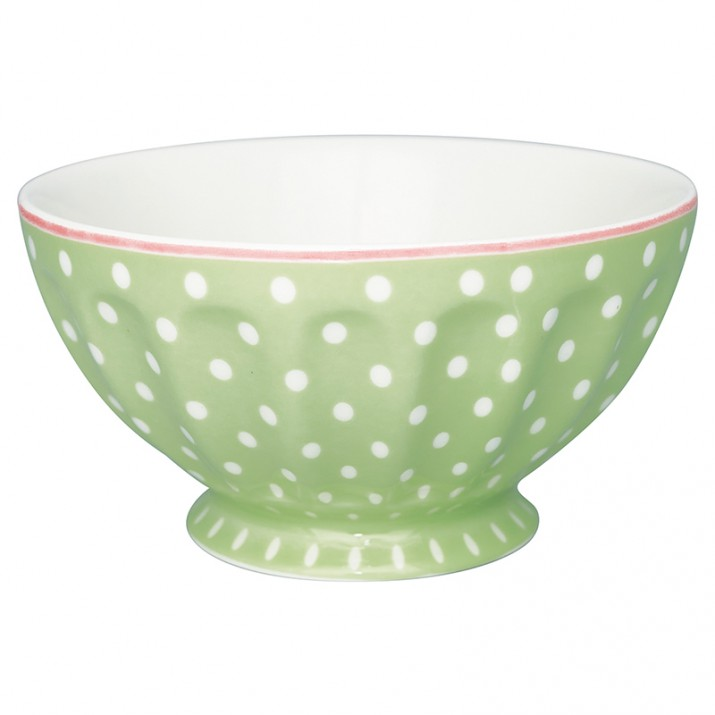 Bol francés XL Spot Pale Green 400 ml - GreenGate