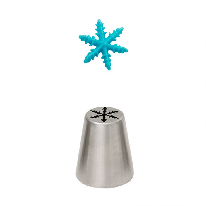 Boquilla rusa Cristal de hielo 1,6 cm  - Kitchen Craft
