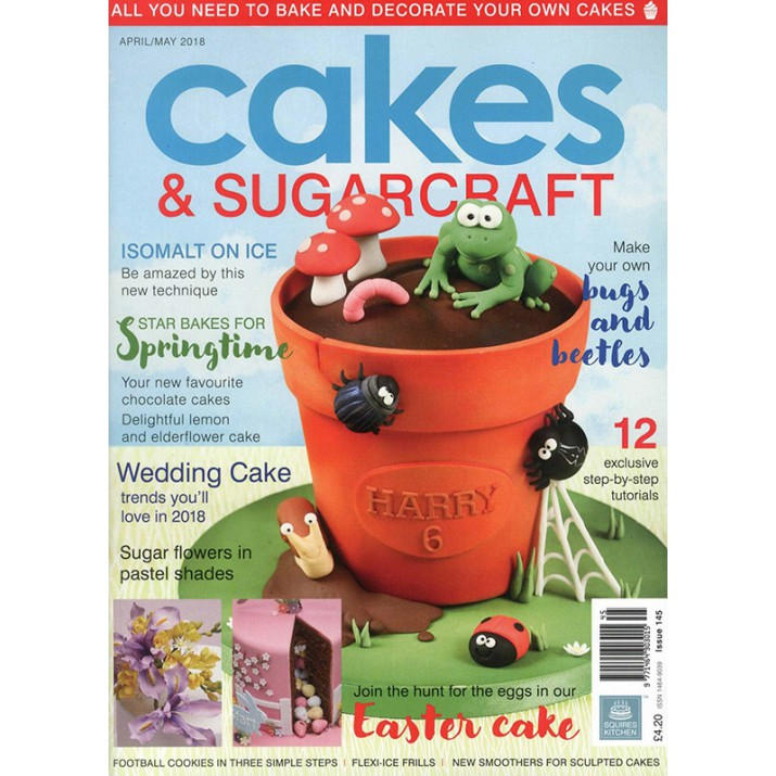Cakes & Sugarcraft Magazine April/May 2018 - Squires Kitchen