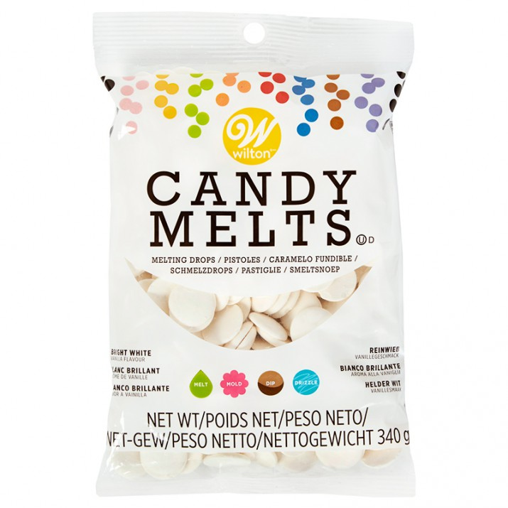 Candy Melts blanco brillante 340 gr - Wilton