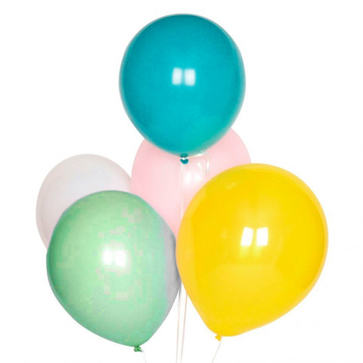 Globos multicolor pastel (10) - My Little Day