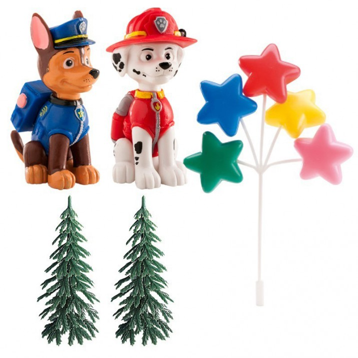 Kit decoración Patrulla Canina - Dekora
