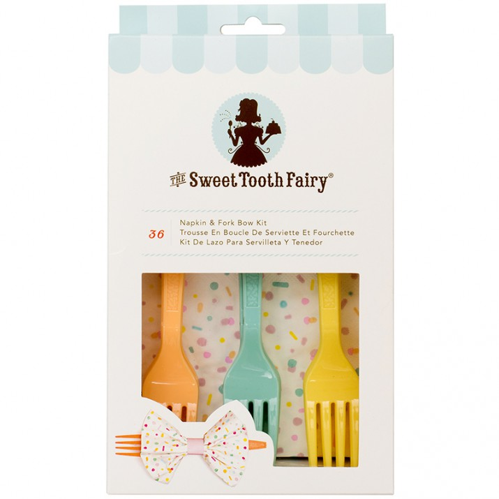 Kit tenedores y servilletas (12) - The Sweet Tooth Fairy