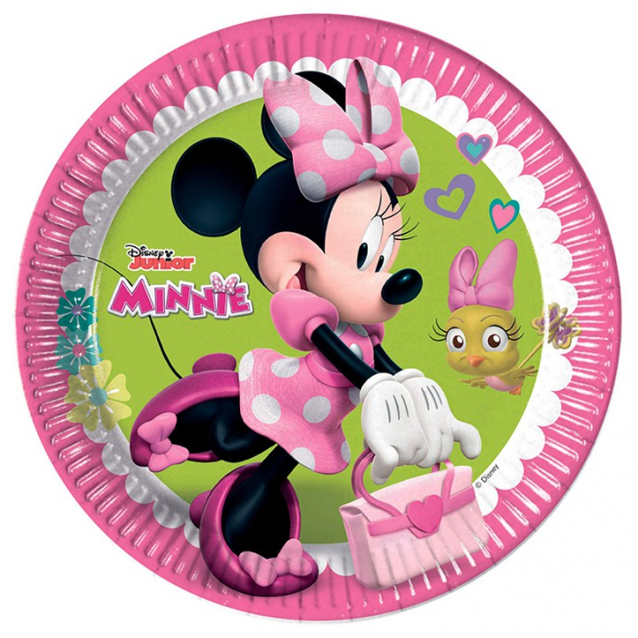 Platos Minnie (8) 22,5 cm