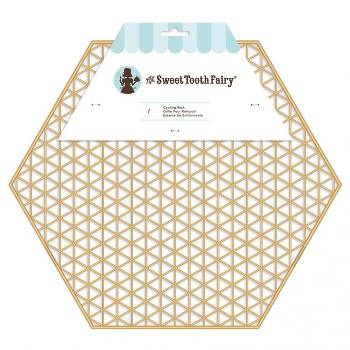 Rejilla enfriadora hexagonal 30 cm - The Sweet Tooth Fairy