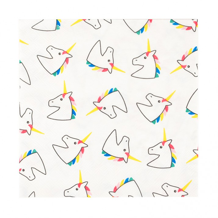 Servilletas de papel unicornios (20) - My Little Day