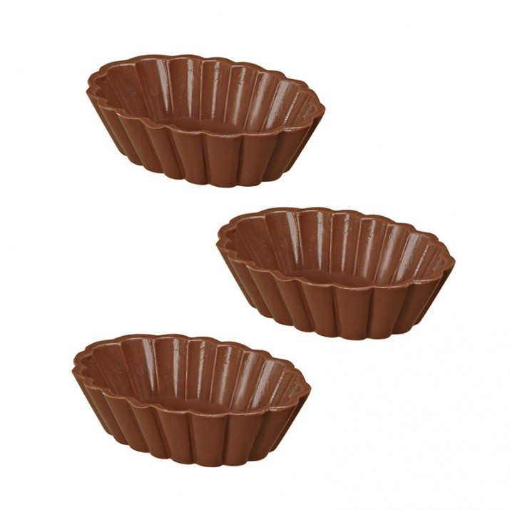 Set de 2 moldes para 3 vasitos de chocolate y candy melts - Wilton