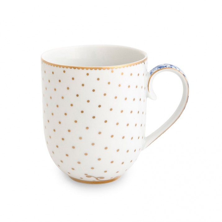 Taza con asa Royal Blanc 260 ml - Pip Studio
