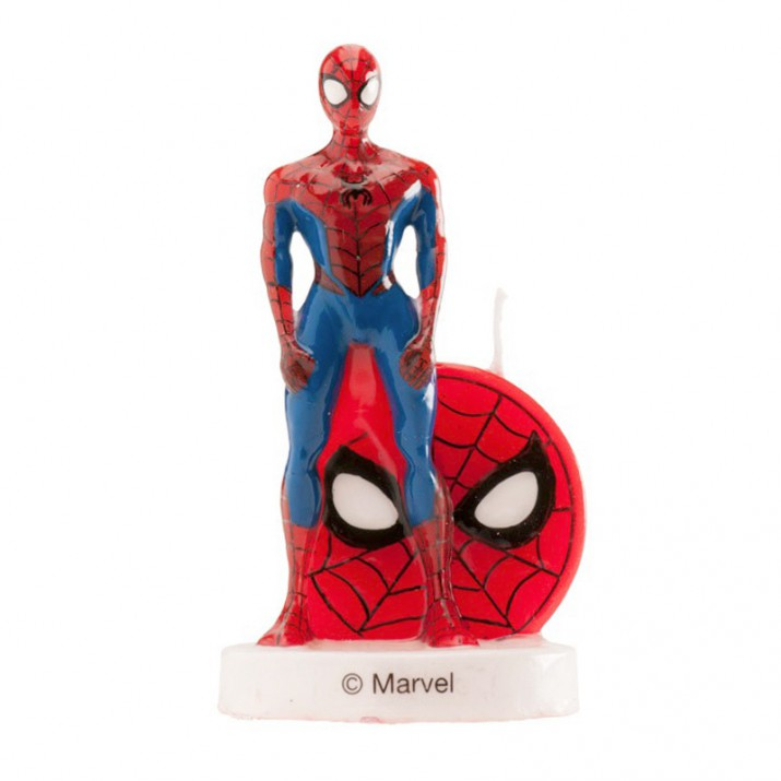 Vela Spiderman 3D - Dekora