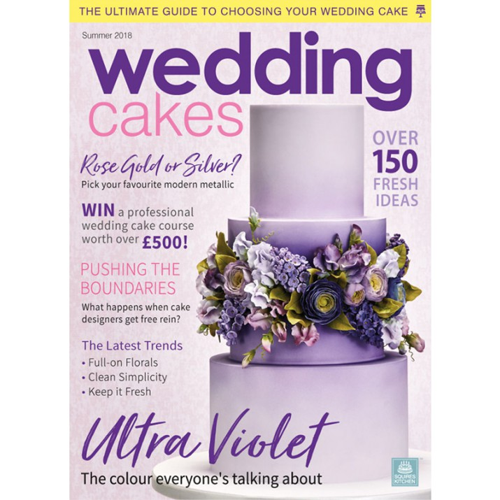 Wedding Cakes Magazine Summer 2018 - Squires Kitchen