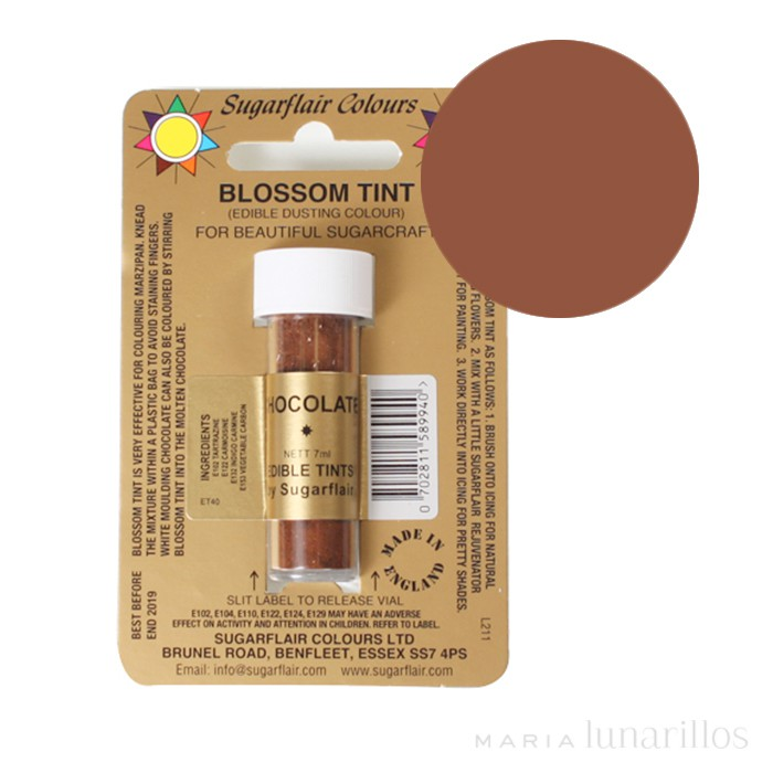 Colorante en polvo chocolate 7 ml - Sugarflair