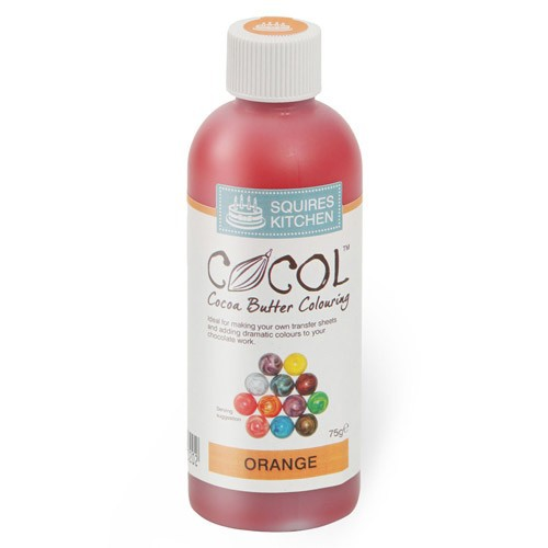 Colorante liposoluble para chocolate naranja - Squires Kitchen