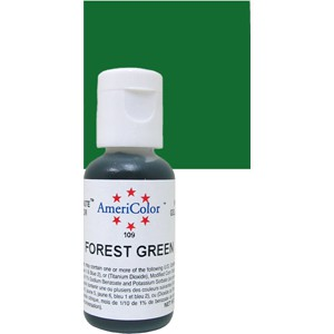 Colorante gel verde bosque 21 gr - AmeriColor