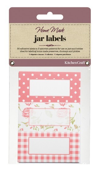 Etiquetas adhesivas rosa vintage (30) - Kitchen Craft