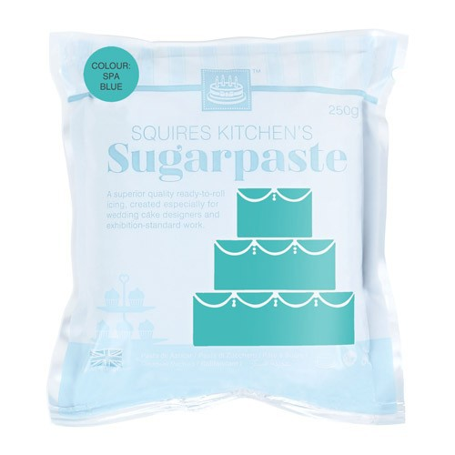 Fondant azul spa 250 gr - Sin gluten - Squires Kitchen
