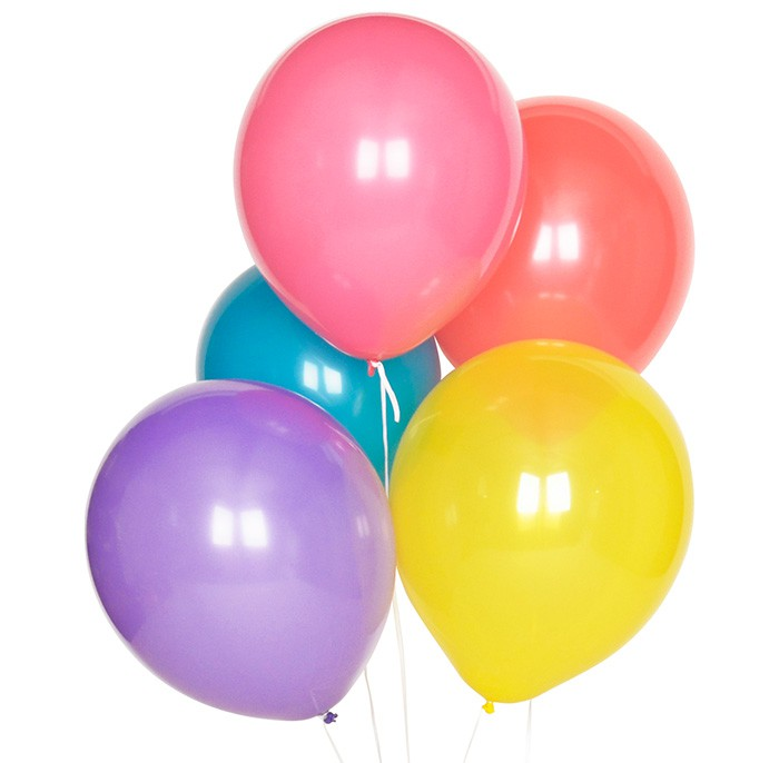Globos multicolor (10) - My Little Day