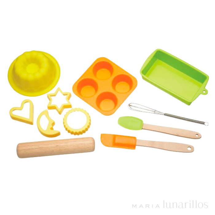 Kit de reposter a para ni os ii kitchen craft for Utensilios de cocina reales para ninos