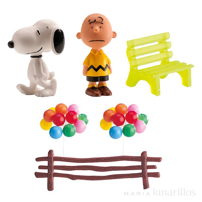 Kit decoración Snoopy - Dekora