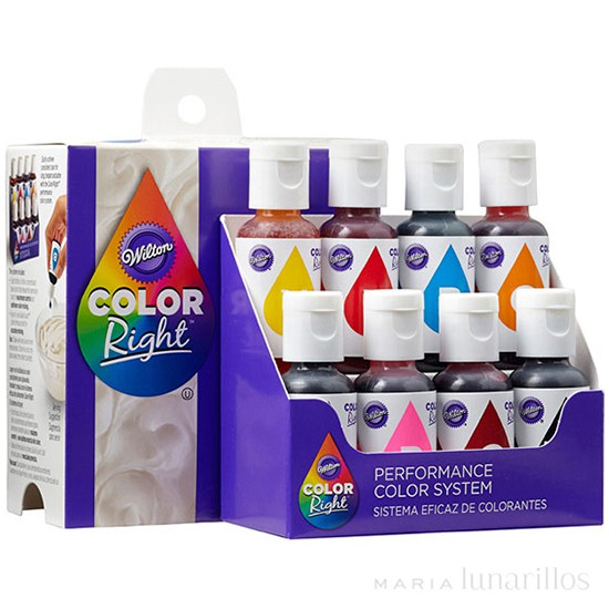 Set colorantes Color Right - Wilton