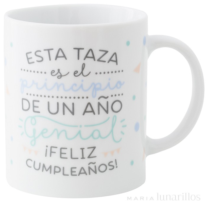 Taza Quot Feliz Cumplea 241 Os Quot De Mr Wonderful
