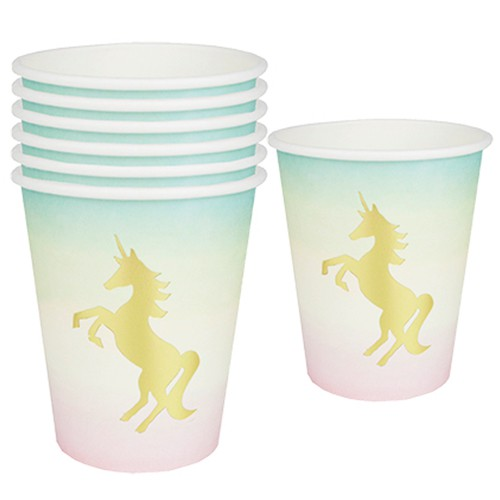 Vasos de papel Unicornio (12) - Talking Tables