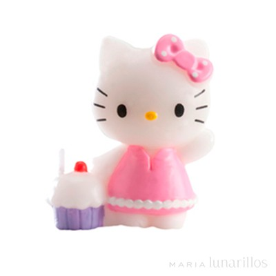 Vela Hello Kitty 3D - Dekora