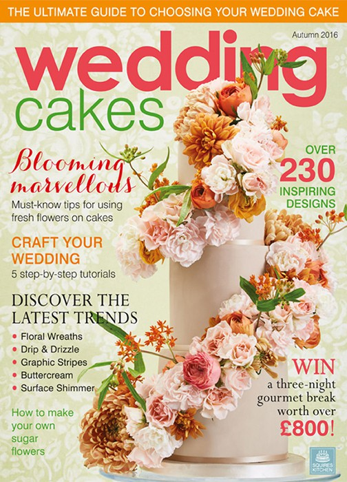Wedding Cakes Magazine Autumn 2016 - Squires Kitchen