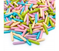 Barritas multicolor Pastel Party Rods 90 g - Happy Sprinkles