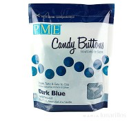 Candy Buttons azul oscuro 340 gr - PME