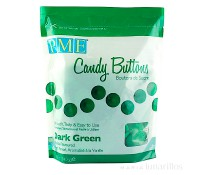 Candy Buttons verde oscuro 340 gr - PME