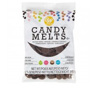 Candy Melts chocolate oscuro 340 gr - Wilton
