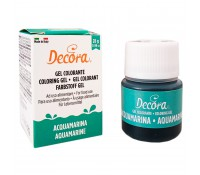Colorante en gel aguamarina 28 g - Decora