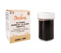 Colorante en gel marfil 28 g - Decora