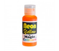 Colorante gel amarillo neón 32 g - Sin gluten - Magic Colours