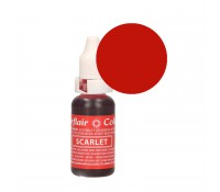 Colorante líquido rojo escarlata 14 ml - Sin gluten - Sugarflair