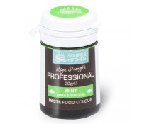 Colorante profesional menta - Sin gluten - Squires Kitchen