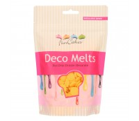 Deco Melts amarillo 250 gr - Funcakes