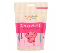 Deco Melts rosa 250 gr - Funcakes