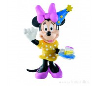 Figura Minnie Party 8 cm