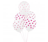 Globos corazones rosas (5) - My Little Day