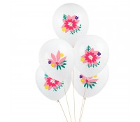 Globos flores (5) - My Little Day