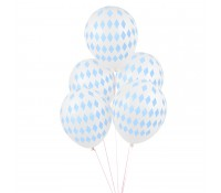 Globos rombos azul (5) - My Little Day