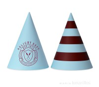 Gorritos de papel Preppy Paddle (10) - Delight Department
