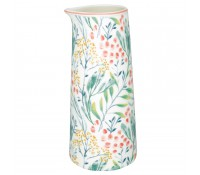 Jarra sin asa Megan White 700 ml - GreenGate
