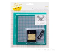 Kit con punzón para coser Oxford - American Crafts