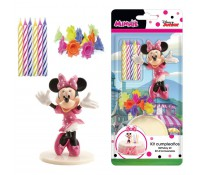 Kit decoración con velas Minnie - Dekora