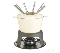 Kit fondue con quemador de combustible Master Class - Kitchen Craft